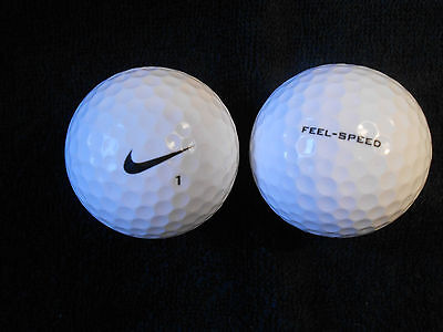 "20   NIKE  FEEL SPEED Golf Balls - ""PEARL/A""  Grades."