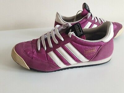 Adidas Dragon Dragons Trainers Ladies UK Size 3.5 Pink