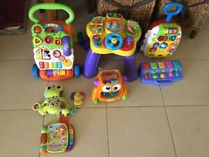 Collection of toys Vtech and others