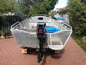 Quintrex widebody dory 420 Manning South Perth Area Preview
