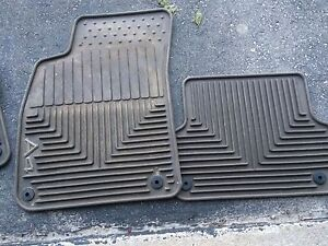 Audi A4 snap in fitted car mats winter & summer
