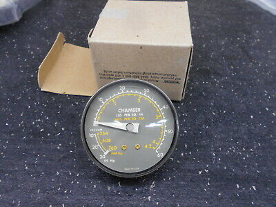 Chamber 0-60 Psi 10-30 18npt Vacuum Pressure Gauge