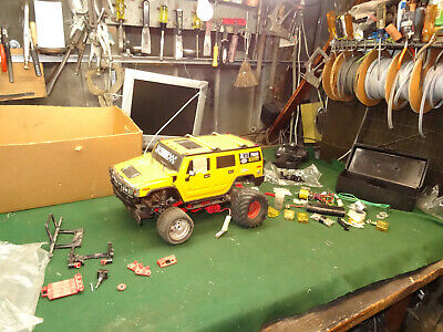 1986 TAMIYA BLACKFOOT FORD w' Hummer Body Parts and accessories HUGE LOT