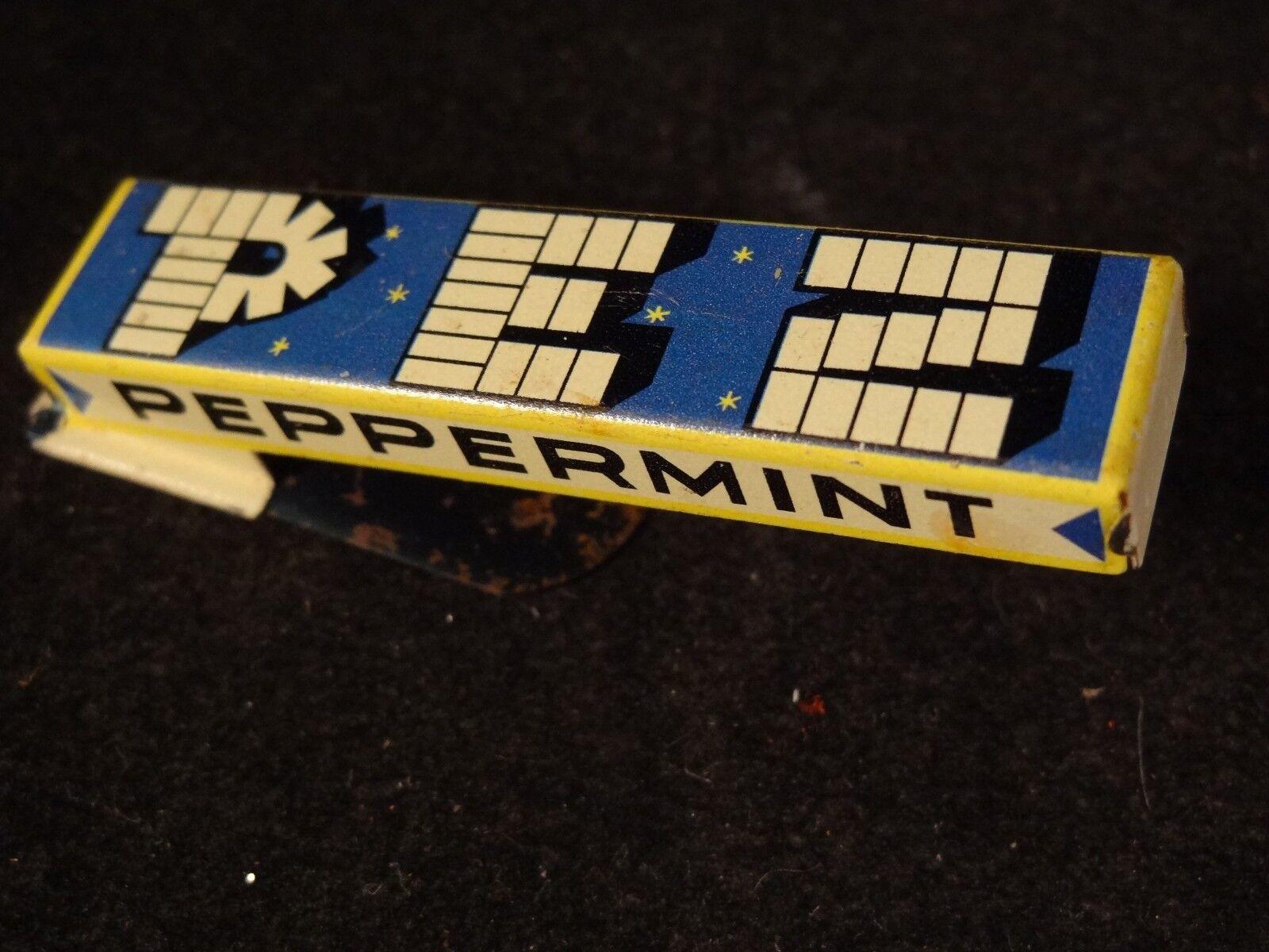Ancien jouet publicitaire clicker clic-clac pez peppermint tôle us zone germany