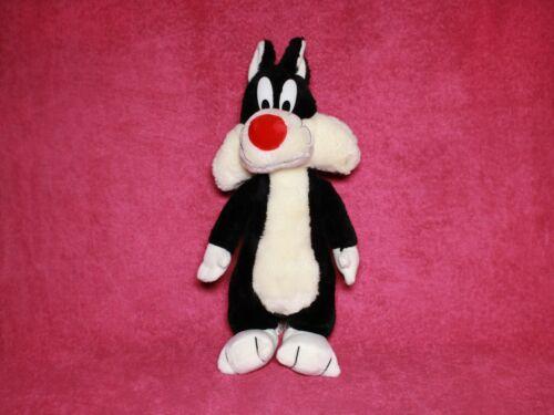 "Looney Tunes SYLVESTER CAT 15"" Plush - Vintage 1993 24K - Stuffed Animal"