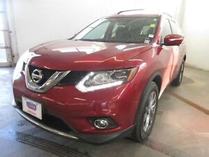 2015 Nissan Rogue SL- AWD! NAV! LEATHER! ALLOYS! ONLY 70K!