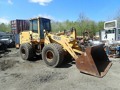 2001 John Deere 624h Wheel Loader Articulated Erops 12k Hrs 624