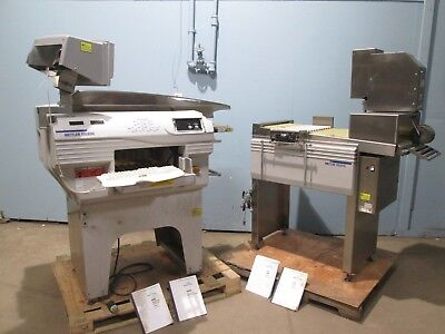 Lot Of 2 Mettler Toledo Commercial Labeling Wrapping Machines Wsmart Ctrl