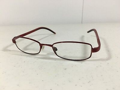 Adidas A996 40 6059 47 17 135 Red RX Eyeglasses Made in Austria