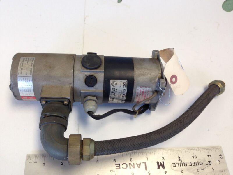 Used Sanyo Denki U708bt-032el2 Dc Servo Motor Optical Encoder 680500c01b Ground9