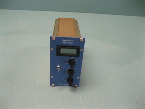 Wedgewood Technology 602 pH Monitor E19 (2540)
