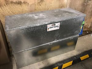 Metal storage box x 2 - security toolbox - 300 litre Little Bay Eastern Suburbs Preview