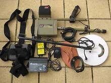 MINELAB SD2200D  METAL DETECTOR for GOLD NUGGETS Ridgehaven Tea Tree Gully Area Preview