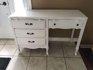 Beautiful white desk or make up dresser