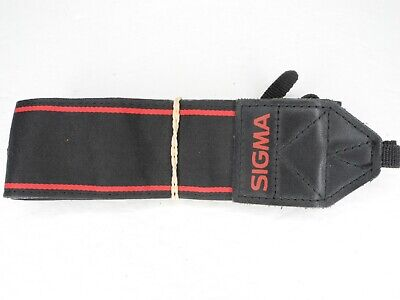 Sigma Black / Red Camera Neck Strap For SD1 / SD9 / SD10 / SD14 / SD15 for sale  Shipping to India