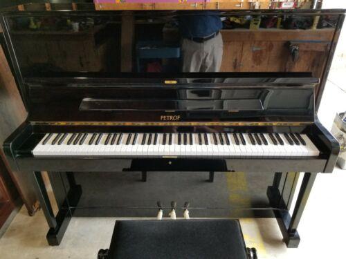 Mint Petrof upright piano