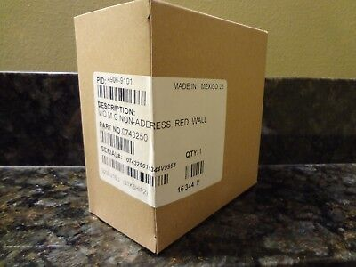 Brand New Simplex 4906-9101 Wall Mount Fire Alarm Strobe Free Shipping