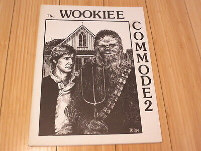 Wookiee Commode #2, 1985 Star Wars Fan Fiction Fanzine 200+ Pages Listing 2 of 2