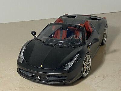 1:18 Hotwheels Ferrari 458 Italia - convertible