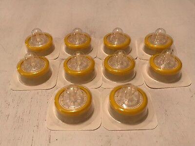 10 Syringe Filter Sterile Millex-gv Pvdf 0.22 Micron 33mm Diameter Filters