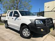 2012 Toyota Hilux SR (4x4) KUN26R MY12 TD Auto Dual Cab Ute Moorabbin Kingston Area Preview