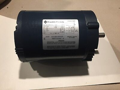 Franklin Electric 1 3 Hp Electric Motor   Part No  1101451102