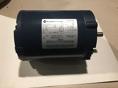 Franklin Electric 13 Hp Electric Motor Part No. 1101451102 Free Shipping