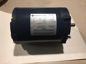 ebay com  franklin electric 1 3 hp electric motor (part no 1101451102)