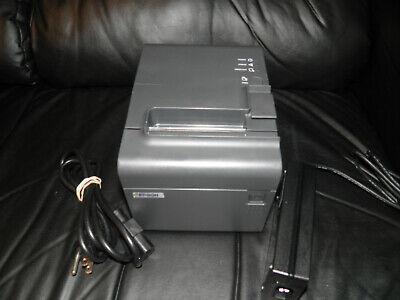 Epson Tm-l90p M165a Thermal Pos Receipt Printer W Power Supply Parallel