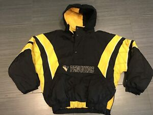 Vintage Starter Pittsburgh Penguins Pullover Hockey Jacket