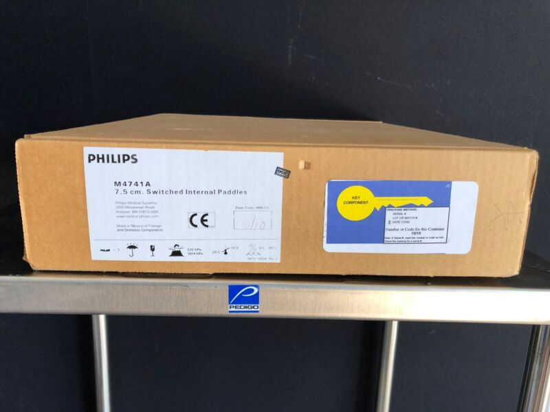 PHILIPS M4741A ADULT 7.5cm INTERNAL PADDLES