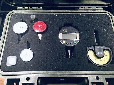 Nibused Inspection Box Interapid Starret Mahr Mitutoyo Indicators