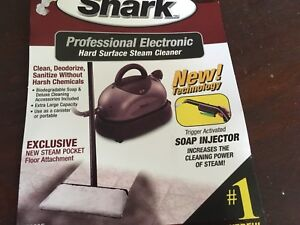 NEW in box Shark Professional Steam Cleaner
