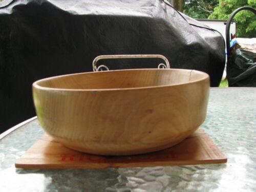 Hand Turned Wood Bowl -Poplar