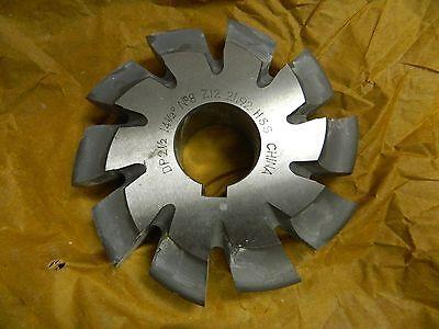 Precision Involute Gear Cutter 8 14-12 Pa 10t 5-34 Cut Dia. Z122192