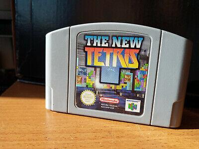 The New TETRIS N64 Nintendo 64 Loose Cartridge Cart Game Gaming PAL