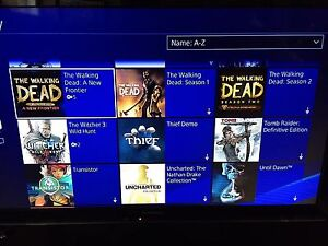 Selling PS4 account 60 games+