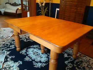 Solid Maple Table Stratford Kitchener Area image 1