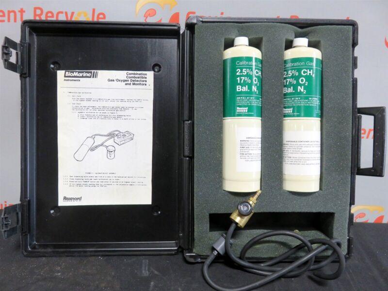 Rexnord BioMarine Calibration Gas Kit 160 2.5% CH4 17% O2 Bal N2