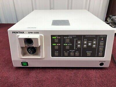 Pentax Epm-3300 Video Endoscopy Processor With Keyboard A3-3
