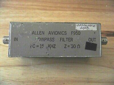 Allen Avionics F950 Low Pass Filter.