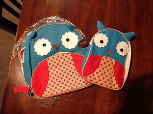 *New* Owl Backpack & Owl Insulated Lunchbag