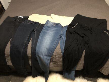 Maternity jeans/pants bundle - size 14/L