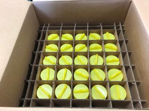 "Box of 50 Reliable, Rasco 1/2"" NPT Brass Concealed Type Sprinkler"
