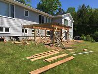 Deck construction labourer