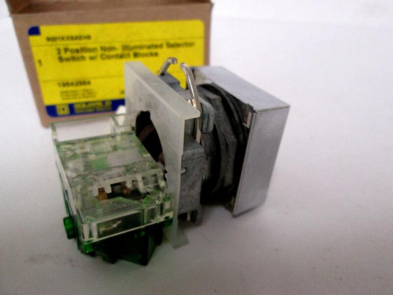Square D  9001KXSAEH5 Non-Illuminated Selector Switch