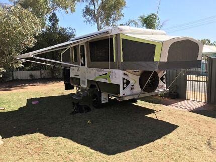 Jayco Outback Flamingo camper trailer