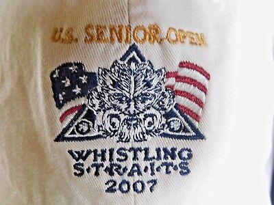 2007 US Senior Open Whistling Straits Hat Classic Cut Golf USGA