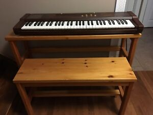 Suzuki Portable Piano with Stand and Bench