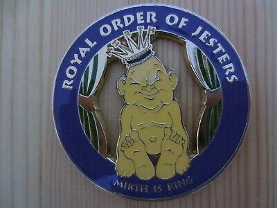 Masonic Auto Car Badge Emblems E19 Mason Freemason ROYAL ORDER OF JESTERS